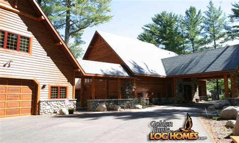 Log Home Floor Plans With Garage by Log Cabin Homes With Breezeway Garage Log Homes Floor