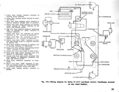 allis chalmers wd  volt wiring diagram