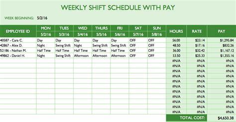 employee schedule template employee schedule template excel top form templates