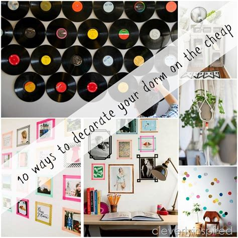 cheap ways to decorate 10 cheap ways to decorate your dorm room cleverly inspired