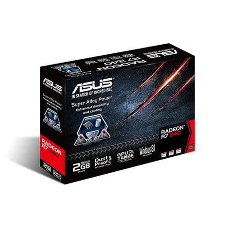 Sold Out Ati Radeon R7 240 Ddr5 1gb Mulus asus r7240 2gd3 l radeon r7 240 2gb 128 bit ddr3 pci