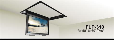 Ceiling Mounted Tv Lift by Flp 310 Ceiling Flip Tv Lift For 42 Quot To 55 Quot Hdtvs Ebay