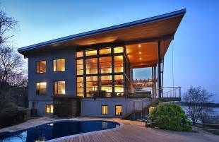 Home Design Chesapeake Views Magazine by Green House Overlooking The Chesapeake Bay Designed By