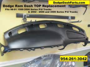 Replacement Dashboard Dodge Ram 1500 Dodge Ram Dash Board Top Replacement Fits 98 01 1500 98