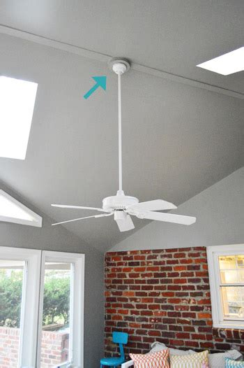 No Wiring Ceiling Light How To Install A Ceiling Fan Without Light Fixture Best Accessories Home 2017