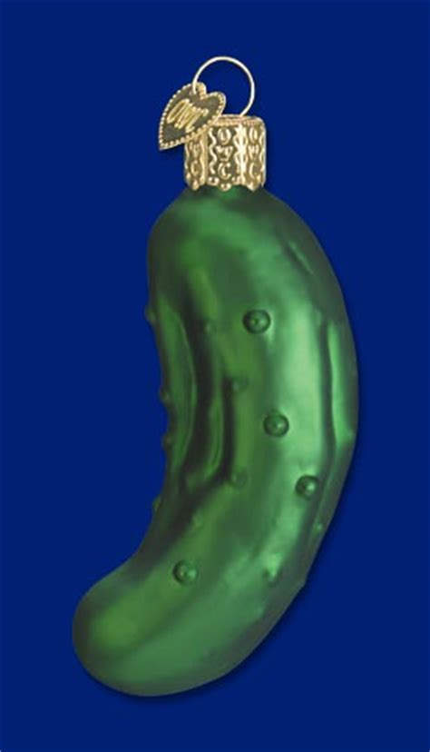 pickle christmas ornament story learntoride co