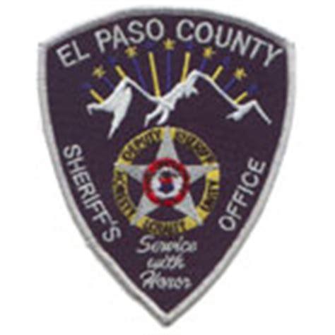 El Paso County Sheriffs Office by El Paso County Sheriff S Office Colorado Fallen Officers