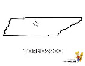 State Of Tennessee Outline by Tennessee Outline Map Printout