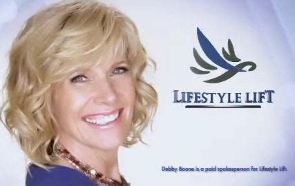 debby boone shill for lifestyle lift debbie boone in new lifelift commercial lifestyle lift