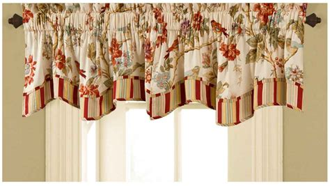 kitchen curtains valance kitchen window treatment ideas knowledgebase
