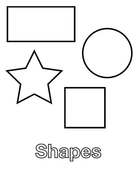 shape coloring pages printable shapes coloring pages coloring me