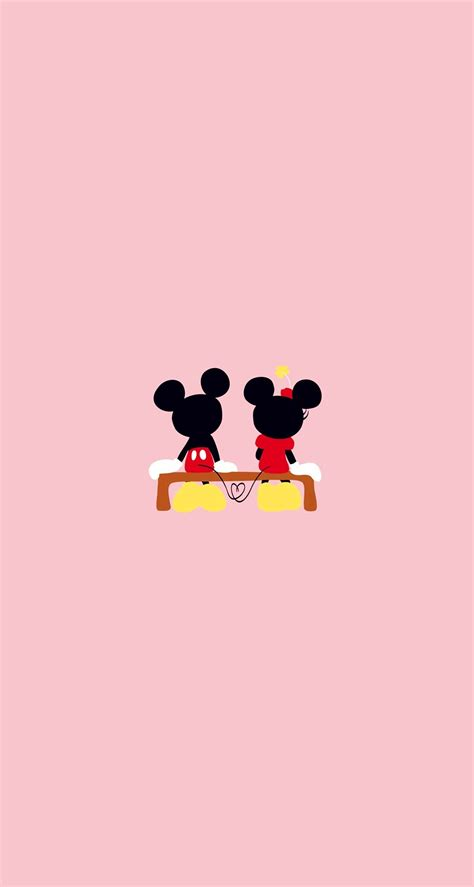wallpaper mickey mouse biru mickey mouse valentine wallpaper 53 images