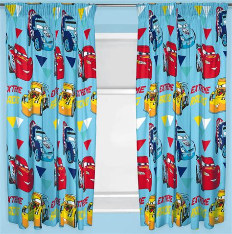 curtains 66 inch drop disney cars ch curtains 66 quot x54 quot inch drop ready made