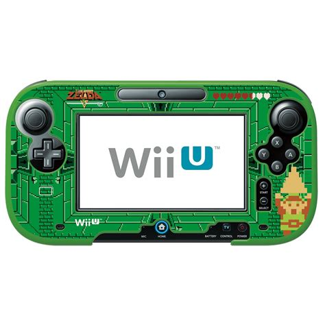 Project Design Cover For Nintendo Wii U Gamepad details listed for hori s the legend of retro wii u