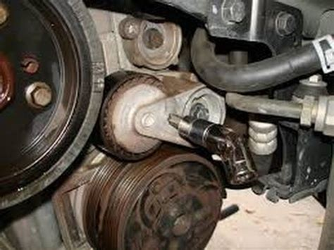 how to change volvo belt not timing belt volvo 2006