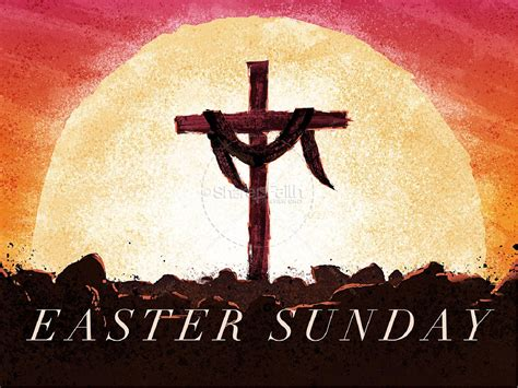 about easter sunday easter sunday resurrection church powerpoint easter