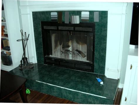 Ceramic Tile Fireplace by Look For Painting Bathroom Tile For Your Home Mind Blowing