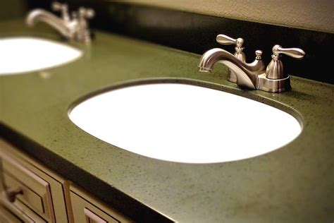 corian countertop thickness get the thickness of granite and quartz vanity tops with