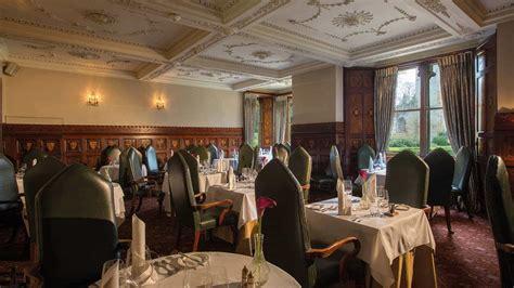 oak room tavern ettington park hotel dining in warwickshire