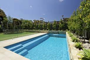 Ideas about swimming pool designs pools with modern garden pictures