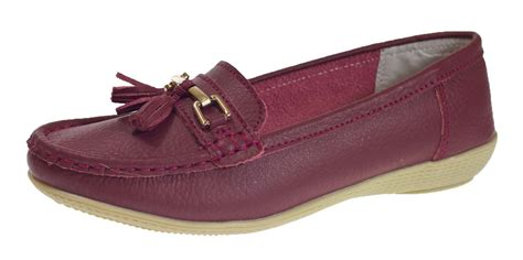 womens driving loafers womens leather driving comfort shoes moccasins cushioned
