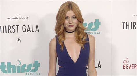 Karpet Tv katherine mcnamara quot 7th annual thirst gala quot carpet