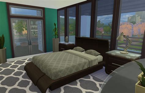 sims bedroom download modern charm sims online