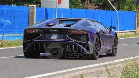 lamborghini aventador sv roadster spied almost undisguised photos 1 of 3 lamborghini aventador sv roadster spied undisguised