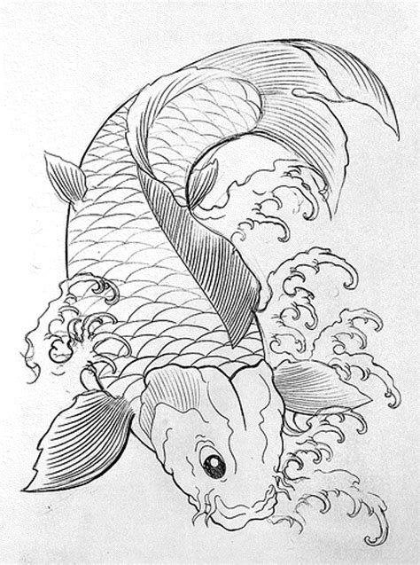detailed fish coloring pages print download cute and educative fish coloring pages
