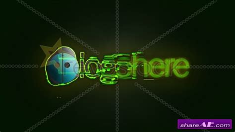 templates for after effects cs3 free download videohive abstract lines logo after effects projects