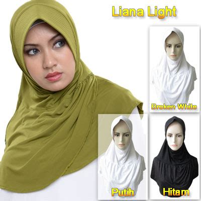 Livanthe Lacy rumah madani busana muslim jilbab hessa