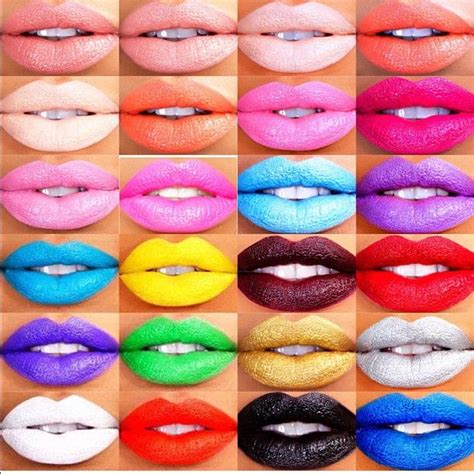 different color different color lip photo gallery 27