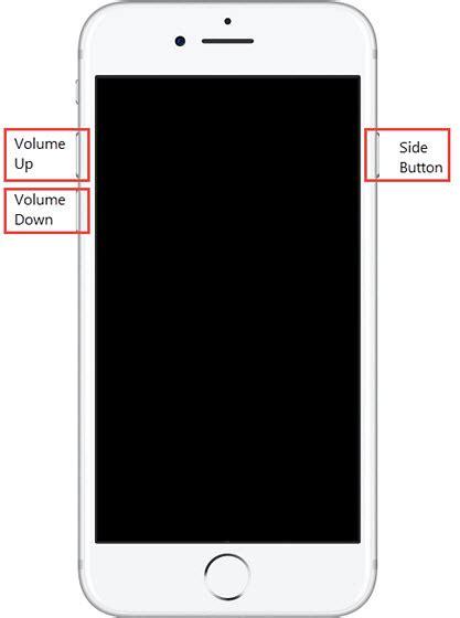 apple iphone 8 8 plus restart soft reset frozen unresponsive screen verizon wireless