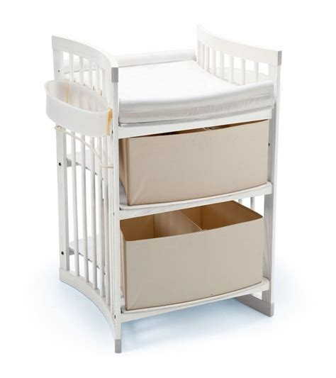 Changing Table White Stokke Care Changing Table In White