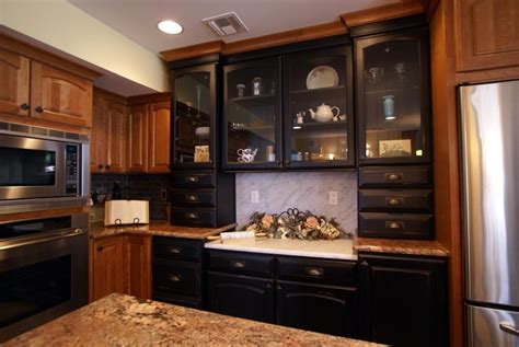 black painted kitchen cabinets black painted cabinets for your kitchen design build pros