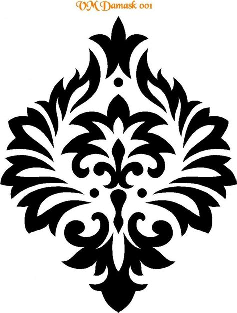 no pattern artist best 25 damask stencil ideas on pinterest stencils