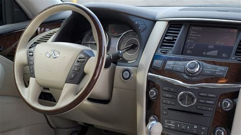 infiniti jeep interior a week in the gigantic infiniti qx56 suv mobile tech