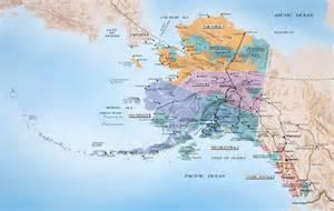 us map w alaska alaska and canada port of call destination maps