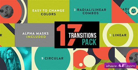 100 transitions pack after effects projects motion graphic transitions 17 pack after effects project