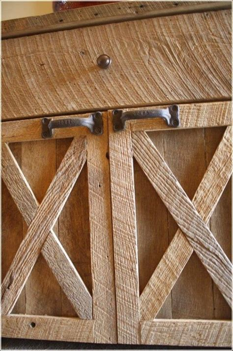 rustic barn wood kitchen cabinet core information home