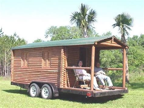 Log Cabin Rv Trailer by Log Cabin Trailer Cer Concession Stand Real Logs 6500