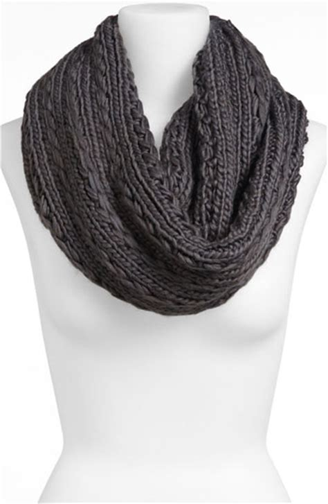 lulu cable knit infinity scarf nordstrom