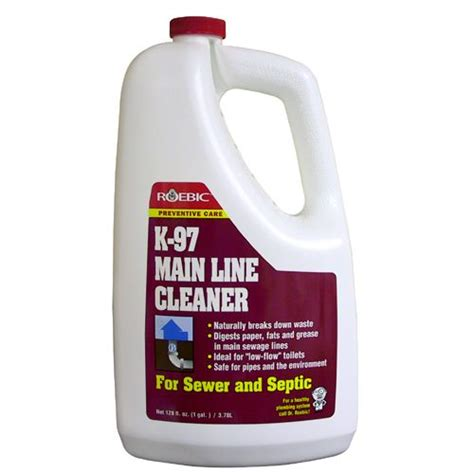 Drain Line Cleaner Drain And Line Cleaner Roebic K97 3 78 Litre