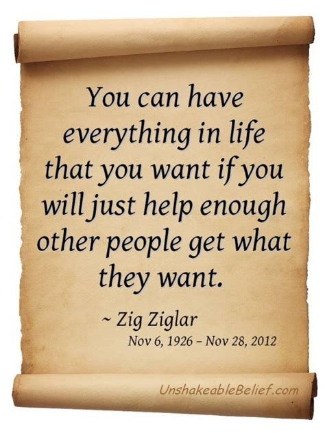 Zig Ziglar Thank You Letter zig ziglar tribute quotes yourbirthdayquotes