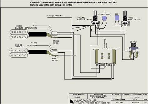 ibanez jem hsh wiring diagram ibanez dimarzio wiring