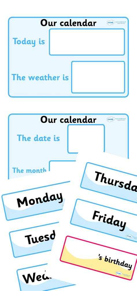 blank calendar template ks1 twinkl resources gt gt weather calendar gt gt thousands of