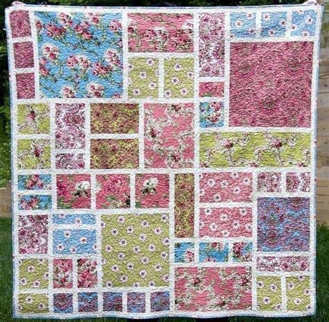 Free Modern Quilt Pattern by No 002 Modern Garden Quilt Pattern