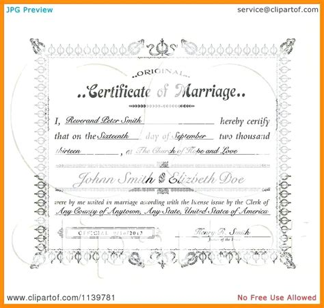 Roughtone marriage certificate