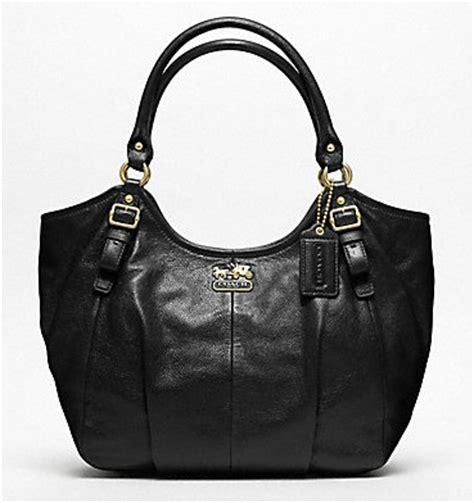 Abigail Black Handbag coach leather abigail shoulder bag burke leather