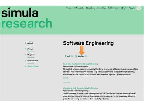 software engineering thesis topics master thesis topics at software engineering department
